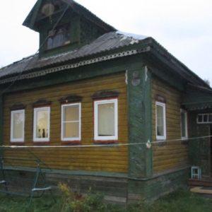 Бревенчатый дом, Ярославль, пос. Починки, 3-я Линия
