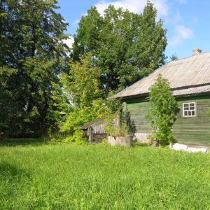 Бревенчатый дом, Ярославская область, деревня Кожевники